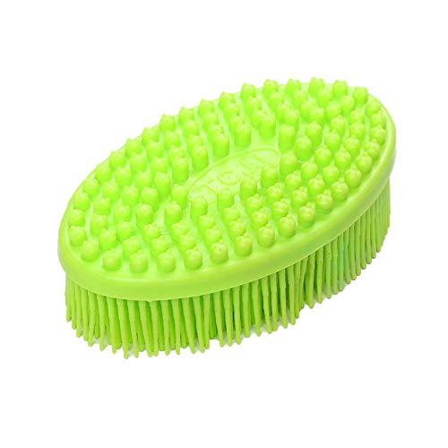 VENMO Home Kopfhaut Massage, Shampoo-Bürste, Handmassagegerät Körper massieren, Nacken, Schultern sowie Rücken, Kunststoffbürste mit Vibrationseffekt, stimuliert den Haarwuchs,Kopfmassage Bürste