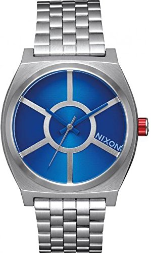 Nixon Men's Quartz Watch with Black Dial Analogue Display Quartz Stainless Steel A045SW2403 00
