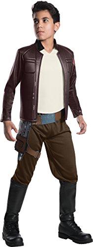 Star Wars The Last Jedi Deluxe Poe Dameron Child Fancy dress costume Medium