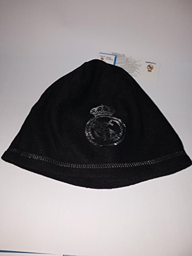 GORRO REAL MADRID NEGRO ADULTOS