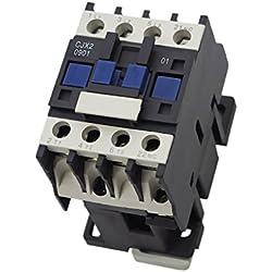 Gazechimp CJX2-0901 3-Phase Contacto Trifásico Motor de Arranque Relé Instalación Eléctrica para Hogar - 380V