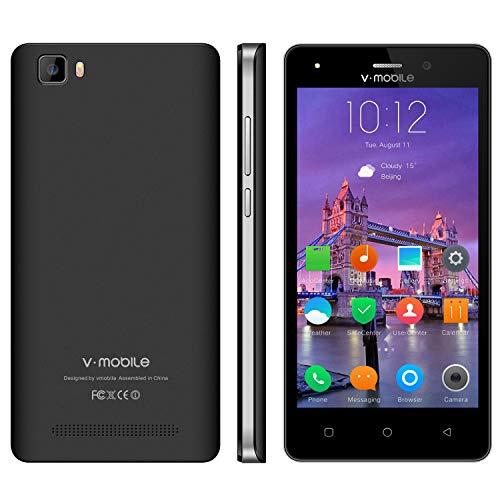 Telefonia Mobile V·Mobile A10 Smartphone in Offerta Supporta Dual SIM CPU 4 Core Wifi Cellulare Android 7.0 5 Pollici 5MP Fotocamera 8GB ROM Batteria 2800mAh GPS
