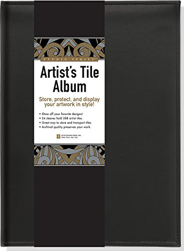 Studio Series Artist's Tile Album: Store, Protect, and Display Your Artwork in Style!