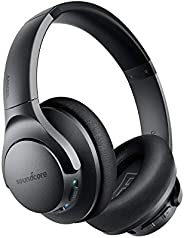 Anker Soundcore Life Q20 Hybrid Active Noise Cancelling Headphones, Wireless Over Ear Bluetooth Headphones wit