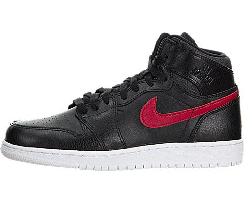 timeless design 6cbce ce0b5 Nike Air Jordan 1 Retro High BG, Zapatillas de Baloncesto para Niños, Negro