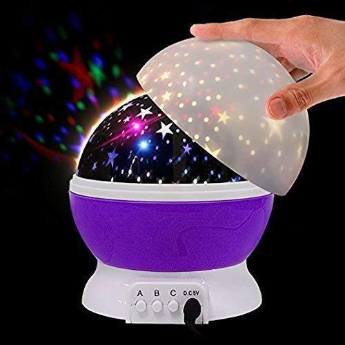 Sky Star moon Master Children Kids Sleep Romantic Led USB Projection lamp lights