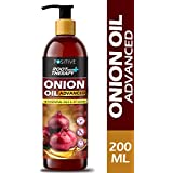 Positive Root Therapy plus Advanced Red Onion Oil For Hair Growth With 18 Essential Oil and 37 Herbs, 200 ml