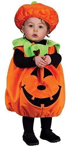 Carino bambini bambini bambine zucca harvest autunno cadente halloween costume travestimento - arancione, fino a 24 mesi