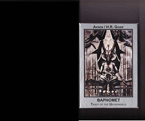 Baphomet-Tarot-Karten NEU: Baphomet Tarot der Unterwelt booklet und Karten in Geschenkbox