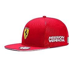 Idea Regalo - Scuderia Ferrari 2019 Collection F1TM. Cappello da Pilota di Charles Leclerc