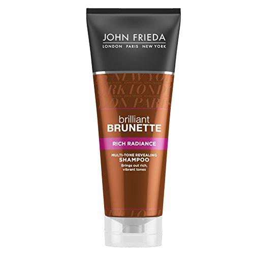 John Frieda Brilliant Brunette Rich Radiance Shampoo, 250 ml