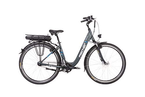 Fischer Ecu 1401 E-Bike, Anthrazit Matt, 44 cm