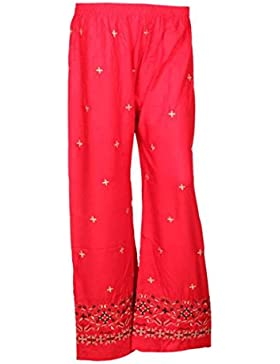 Indistar Regular Fit Women Red Trousers