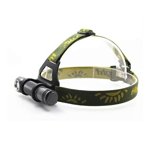 DD/LZY Boruit Xpl V5 Led Scheinwerfer wasserdichte Stirnlampe 3 Modi Taschenlampe 18650 Batterie Camping Jagd Scheinwerfer, A