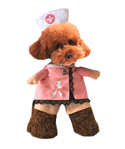 Xiaoyu Welpe Hund Katze Krankenschwester Kostüm Halloween Cosplay -