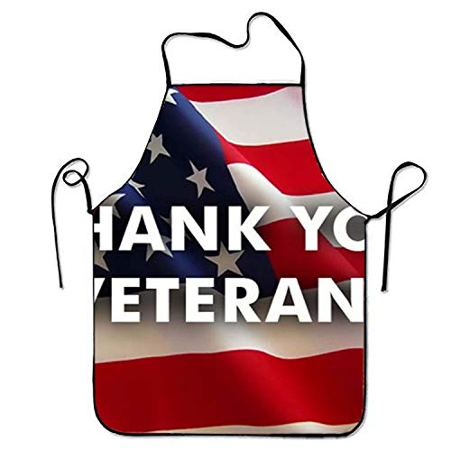 ERCGY 2019 Apron Veterans Day Deals Aprons Printed Apron for Baking Restaurant Cooking