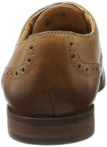 Clarks Herren Broyd Limit Oxford Braun (Tan Leather)