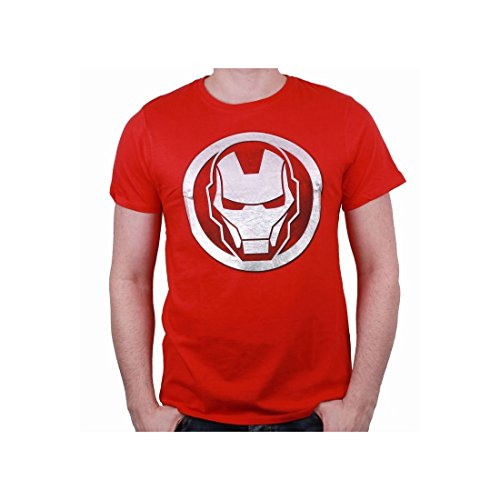 cotton division Herren T-Shirt Rouge Homme