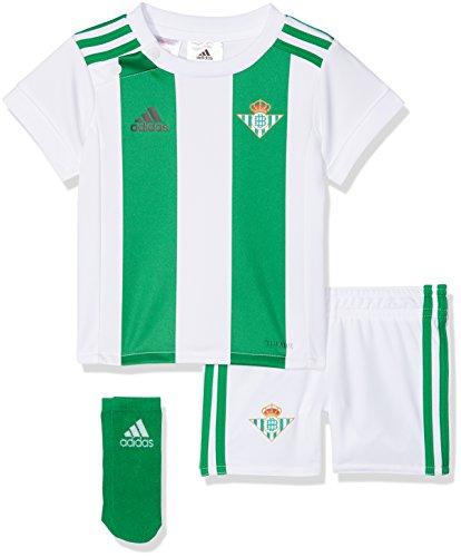 3dd8203a0 adidas Real Betis Conjunto, Unisex Bebé, Blanco, 68-3/6 Meses