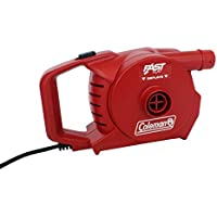 Coleman 2000019882 - Bomba de Aire eléctrica (para Usar con 230 V), Color Rojo