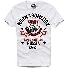 E1Syndicate T-Shirt KHABIB NURMAGOMEDOV The Eagle MMA UFC Russia Sambo