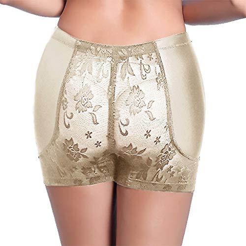 Mitlfuny Damen Push-up Bodyshaper Padded Shapewear Höschen Hip Enhancer,Dessous Sexy Panties Damen Interieur Push Up Padded Fake Ass Unterwäsche Schritt