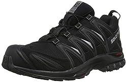 Salomon Herren Trail Running Schuhe, XA PRO 3D GTX, Farbe: schwarz (Black/Black/Magnet) Größe: EU 49 1/3