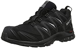 Salomon Herren XA Pro 3D GTX Trailrunning-Schuhe, schwarz (black/black/magnet), Gr. 43 1/3