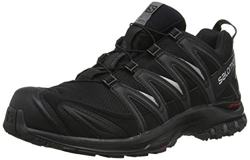 official photos d2a20 45ef8 Salomon XA Pro 3D GTX, Zapatillas de Trail Running para Hombre, Negro  Black/Magnet, 40 2/3 EU