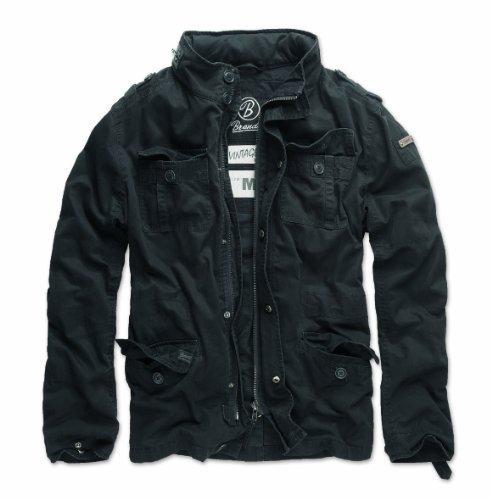 Brandit Britannia Jacket Giacca nero XXL