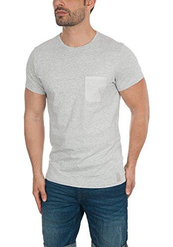 Blend Tobi Herren T-Shirt Kurzarm Shirt Rundhals-Ausschnitt Aus 100% Baumwolle Down Mix (70812)