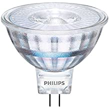 Philips Classic CLA LEDspotLV ND 5-35W MR16 827 36D GU53 A+ Color blanco - Lámpara LED (A+, Color blanco, Transparente, 50 - 60)