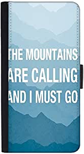 Snoogg Wanderlust Mountains Are Calling 2868 Designer Protective Flip Case Co...