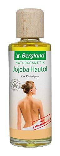 Bergland Jojoba-Hautöl mit Macadamia-Öl, 1er Pack (1 x 125 ml)