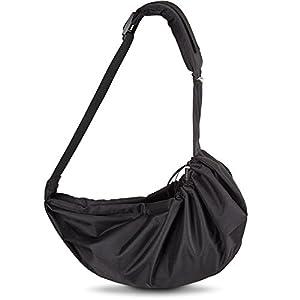 VITAZOO Hundetragetasche mit komfortablem Schulterkissen, verstellbar, waschbar, belastbar bis 15 kg | mit 2 Jahren Zufriedenheitsgarantie | Tragetasche für Hunde, Haustiere und Katzen, Transport-Tasche, Hunde-Rucksack, Hunde-Tragebeutel,