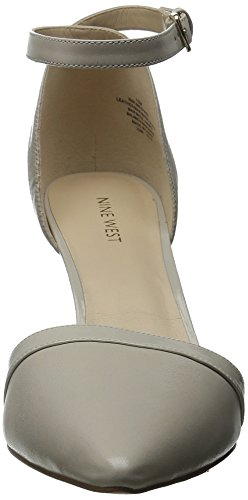 Nine West Timesharing-Kleid aus Leder Pump Light Grey/Light Grey
