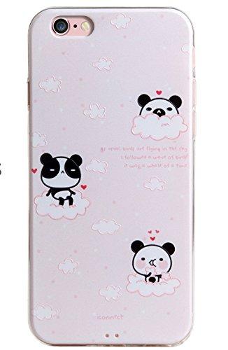 Voguecase® für Apple iPhone 7 4.7 hülle, Schutzhülle / Case / Cover / Hülle / TPU Gel Skin (Mathematik Formel 01) + Gratis Universal Eingabestift Wolken Panda