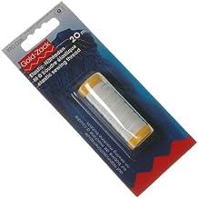 Prym - Filo da cucire elastico, Gold Zack, 0,5mm, L.: 20m, bianco
