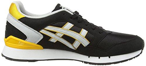 Asics Gel-Atlanis - Scarpe sportive unisex, taglia Nero (Black/Soft Grey 9010)