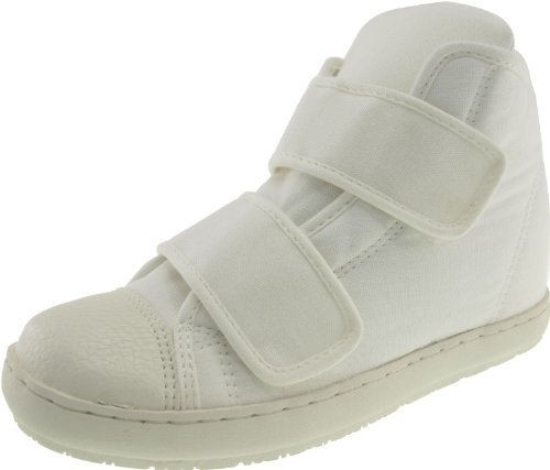 Maxstar  203H-2Band, Chaussons montants femme Blanc - blanc