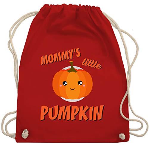 Anlässe Kinder - Mommys little Pumpkin Halloween - Unisize - Rot - WM110 - Turnbeutel & Gym ()