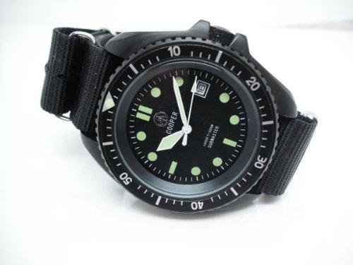 Cooper SuBMaster sm8016Herren 300m Professional Military SAS SBS Taucher Armbanduhr