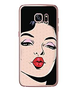 PrintVisa Designer Back Case Cover for Samsung Galaxy S7 Edge :: Samsung Galaxy S7 Edge Duos :: Samsung Galaxy S7 Edge G935F G935 G935Fd (Beautiful sexy Thirty women in Pose)