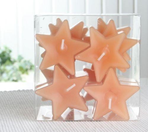 Duft-Sternenlicht, transparente Hülle, 12er-Sparpack, Zimt