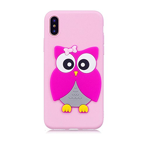 prix grande remise prix officiel iPhone X Custodia, Gel Soft TPU Skin Shell Sottile durevole ...