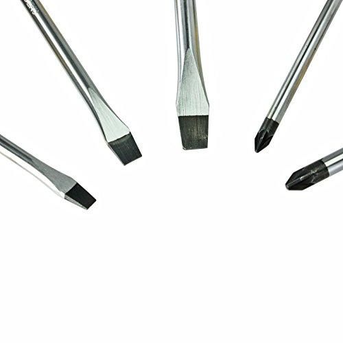 5-pice–tte-plate-Tournevis-avec-embout-magntique-5-mm-6-mm-8-mm-100-mm-150-mm-jaune-noir
