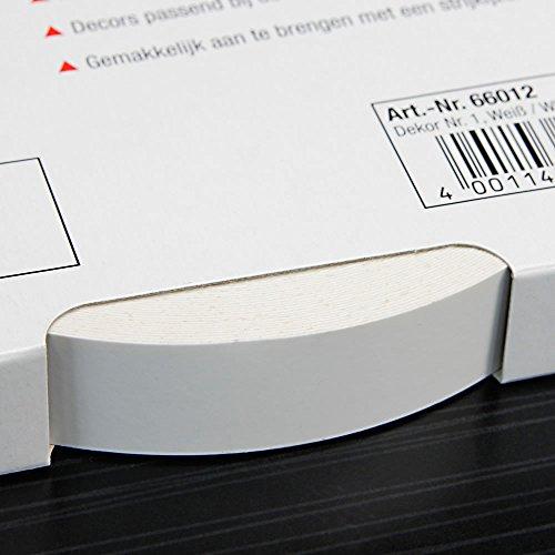 Kantenumleimer für Möbelbauplatten und Regalbretter Weiß 25 m x 20 mm