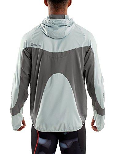 Men skin Gravity giacca Packable più Multicolore - Aluminium/Pewter
