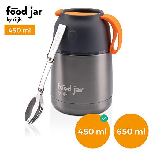 riijk Food Jar Thermobehälter, Edelstahl Isolierbox für warmes Essen, Meal prep und Babynahrung