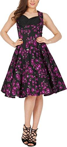 Vintage Kleid im 50er Jahre Stil Schwingender Rock